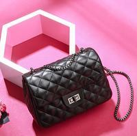 Fashion Ladies Crocodile Flap Bag Designer Handbags Women Bags 2018 Black White Small Day Clutch Girls Crossbody Bags