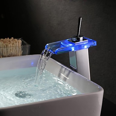 Color Changing LED Water Bathroom