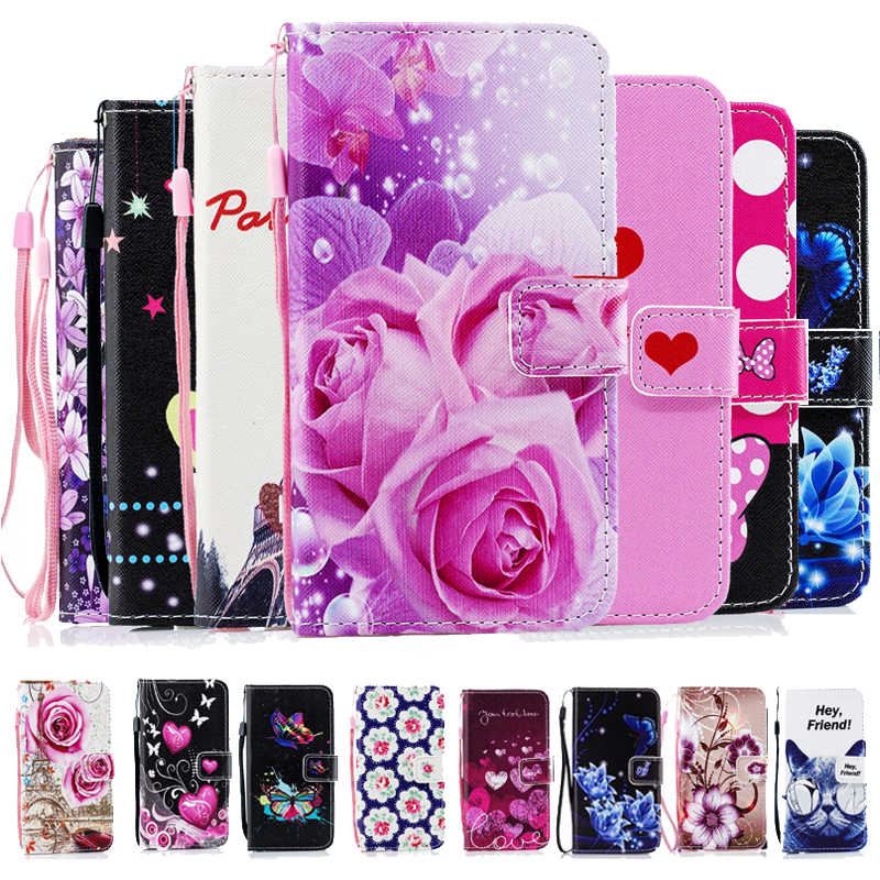 Leather Wallet Flip phone Case for ASUS Zenfone 4 Max ZC520KL Pro ZC554KL X00HD ZC554KL 3 Max ZC520TL Live ZB501KL cover shell