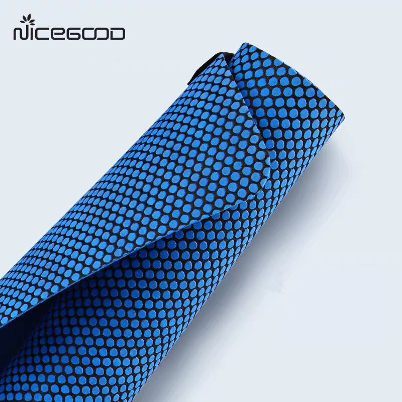 Delightful Colors And Exquisite Workmanship Yoga Mat 2mm Natural Rubber Nets Point Non Slip Foldable Exercise Mat For Fitness Gym Workout Mattress Trainning Yoga Mats 2size Famous For Selected Materials Novel Designs