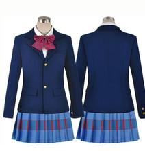 Hot Sale Girls New School Uniforms font b Anime b font Love Live font b Cosplay