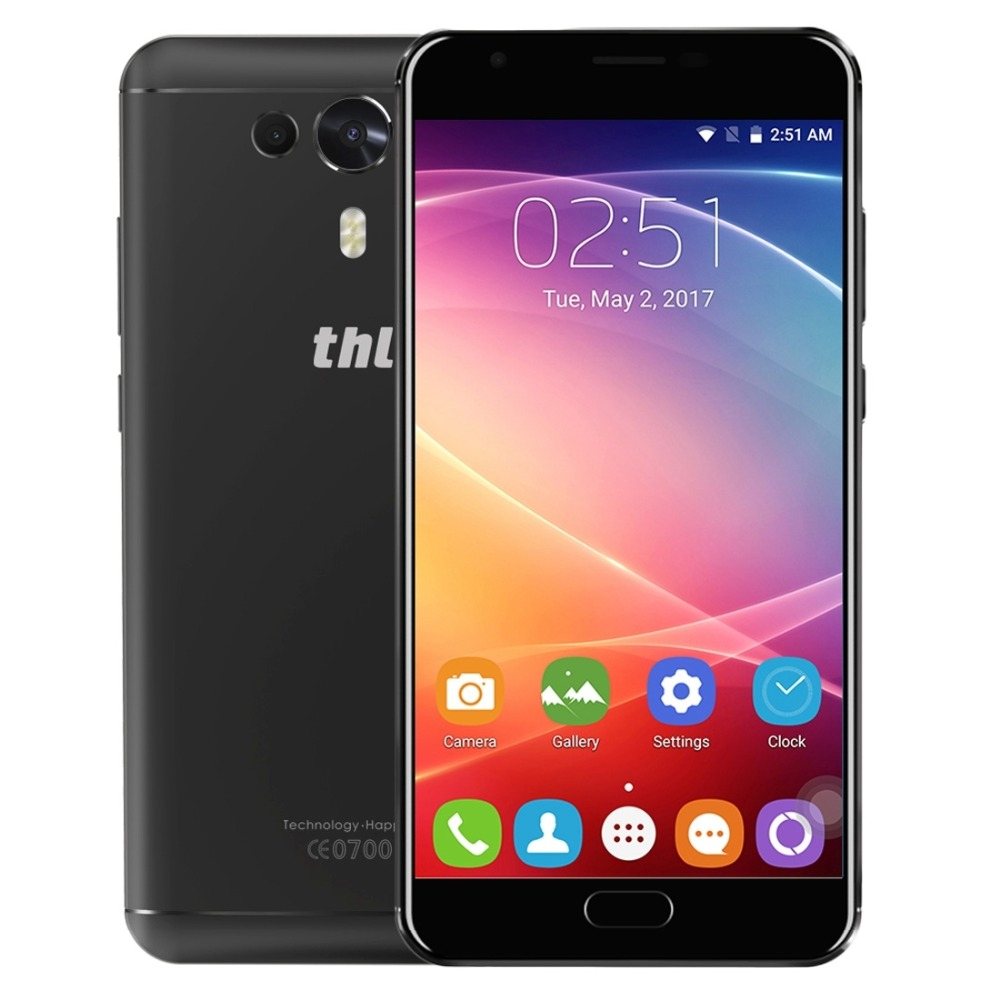 THL Knight 1 LTE 4G Simu ya mkononi 3GB + 32GB 5.5 inch IPS Screen kwa Android 7.0 Simu MTK6750T Octa Core 1.5GHz GPS OTG Dual Back Camera