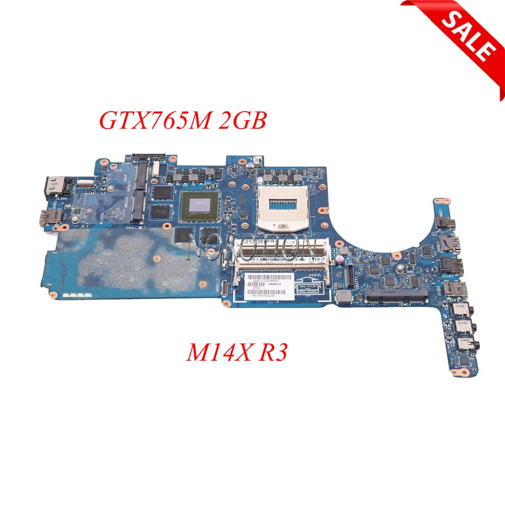 NOKOTION Laptop Motherboard For Dell Alienware M14X R3 CN-0CGYDT 0CGYDT VAR00 LA-9201P Main Board GTX765M 2GB FULL TESTEDNOKOTION Laptop Motherboard For Dell Alienware M14X R3 CN-0CGYDT 0CGYDT VAR00 LA-9201P Main Board GTX765M 2GB FULL TESTED