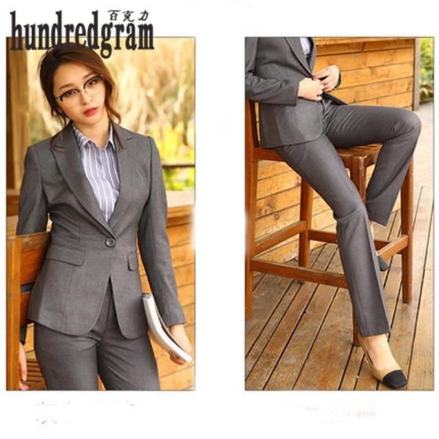 Profesional delgado desgaste profesional traje de manga larga traje trajes trajes de negocios de Moda new-dod377