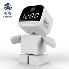 Беспроводной Квадратный Блок робот wifi камера IP P2P CCTV Cam детский монитор наблюдения HD H.264 объектив ИК ночного видения для Android или I