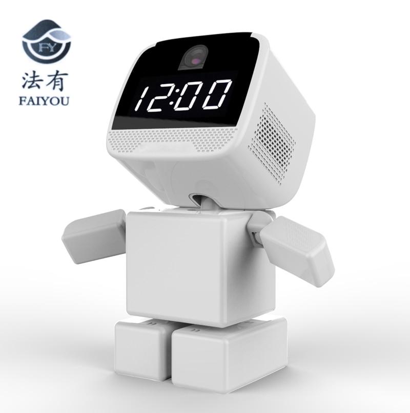 Caméra IP P2P CCTV caméra sans fil bloc carré Surveillance bébé HD H.264 lentille IR Vision nocturne pour Android ou I