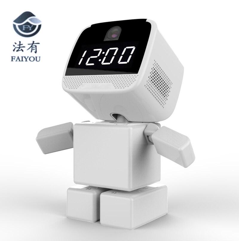 Unterhaltungselektronik Radient Wireless Quadratische Block Robot Wifi Kamera Ip P2p Cctv Cam Baby Monitor Überwachung Hd H.264 Objektiv Ir Nachtsicht Für Android Oder Ich Ideales Geschenk FüR Alle Gelegenheiten Roboter