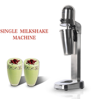 ITOP Electric Single Milkshake Mixers Stainless Steel Milkshake Foam Bubble Tea Shop Smoothies Maker Blender Machine