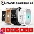 Jakcom B3 Banda Inteligente Novo Produto De Acessórios Como Pulseiras de Relógio Inoxidável Cinturino Metalo Chama Eletrônica Inteligente Engrenagem Fit 2