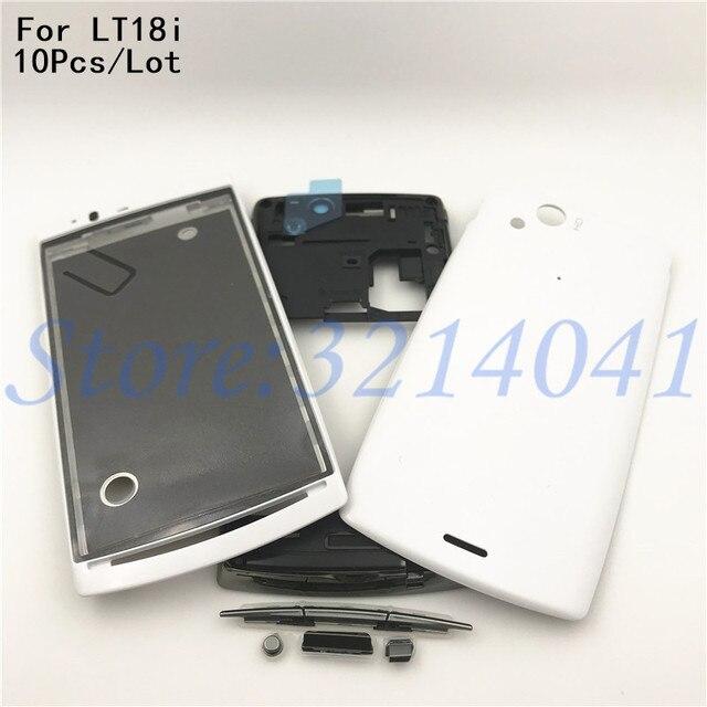 10Pcs/Lot Full Housing For Sony Ericsson Xperia Arc S LT18 LT18i ...