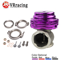 VR RACING- MVS 38mm WASTEGATE WITH V-BAND AND FLANGES MV-S TURBO WASTEGATE WITH LOGO VR5831