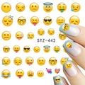 STZ 1 Hojas Teléfono Varios Expresión Diseños para la Transferencia Del Agua Tatuajes de Nail Art Tips Nail Art Tattoo STZ440-443