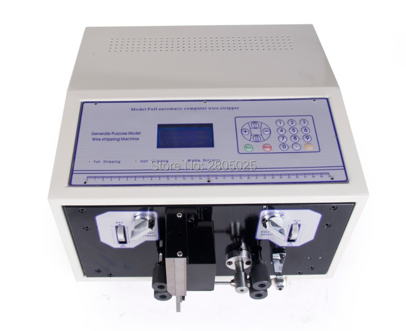 Automatische Draht Stripper 110 220 V draht cutter 0,1 6mm2 SWT508D II Computer streifen maschine mit LCD display draht stripper werkzeug - 5