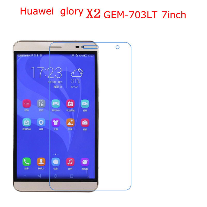 Huawei zafer X2 GEM-703LT 7.0 inç Yeni fonksiyonel tip Anti-düşme, darbe dayanımı, nano 9 H ekran koruma filmi