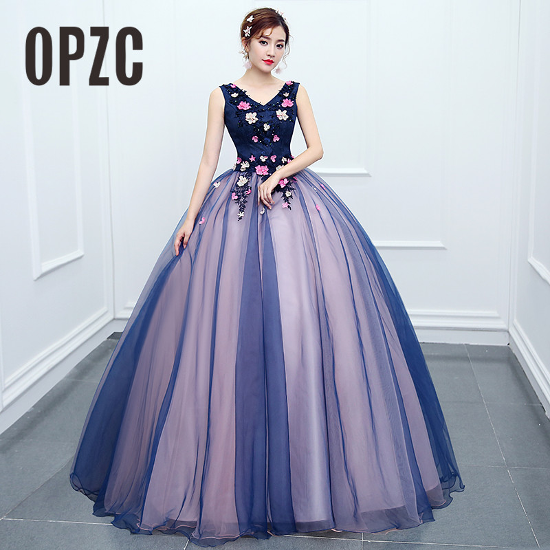 2018 New Arrival Colorful Long Dress Formal Evening Gowns Bridal Shop Them Uniform for Piano Performance