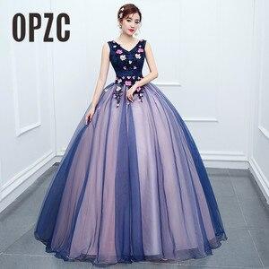 Image 1 - รูปภาพจริง 2020 สินค้าใหม่มาใหม่สีสันยาวชุดราตรีอย่างเป็นทางการ Gowns เจ้าสาว Shop พวกเขา Uniform สำหรับเปียโน SOLO แสดง