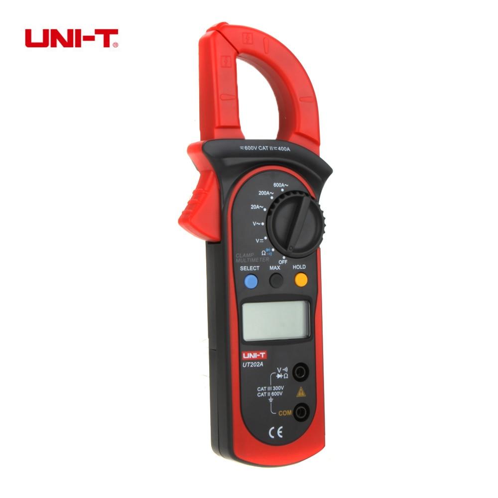 Current Clamp For Multimeter : Uni t ut a digital current clamp meter diagnostic tool