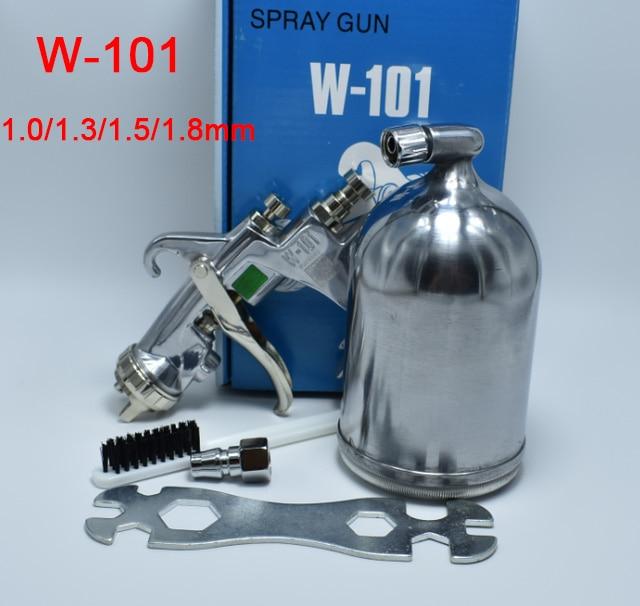 цена на HVLP W-101 air spray gun hand manual spray paint gun,paint sprayers,1.0/1.3/1.5/1.8,airbrush,aerograph air SPRAY PAINT GUN