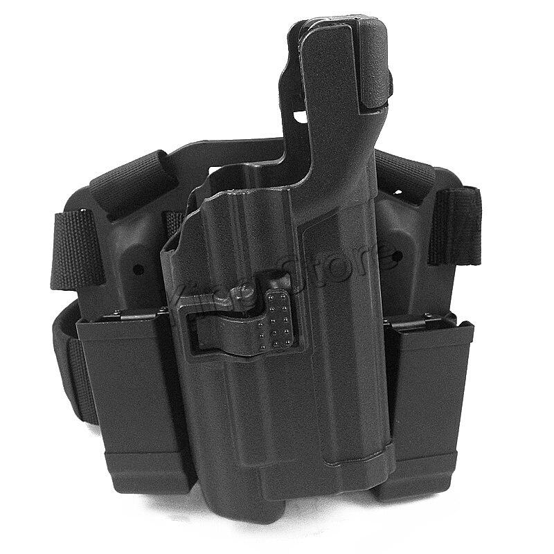 Étui tactique de haute qualité à roulement léger de niveau 3 étui de jambe de pistolet Serpa pour HK USP