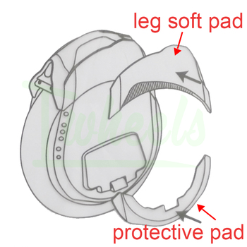 Original Ninebot Z10 Z8 Z6 protective pad soft pad electric unicycle spare parts