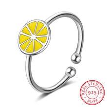 Новинка 925 простое популярное милое серебряное Открытое кольцо