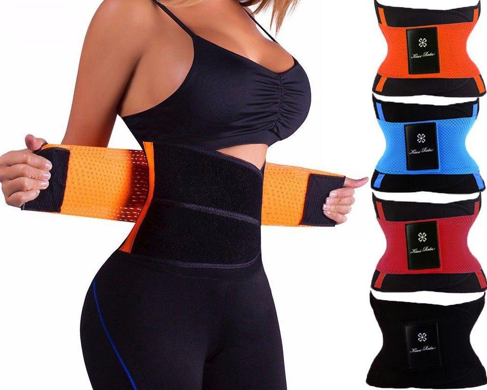 La srta. Moly sudor cintura entrenador de la forma del cuerpo Shaper Xtreme Power de cinturón Faja Tummy adelgazamiento Fitness corsé Shapewear