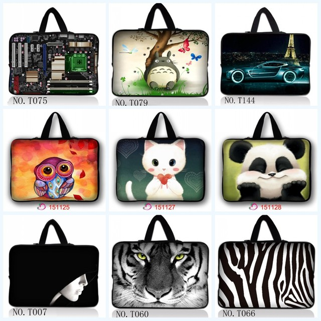 Support customization HD color printing notebook laptop bag sleeve case 9.7 10.1 12 13 14 15 17 inch for ipad macbook pro/air