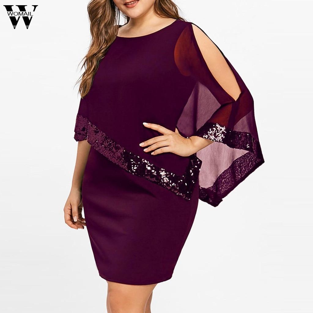 cf8f37cb0c COLROVIE brillo de malla Vestido 2 en 1 negro superposición mujeres Sexy  Fiesta Club vestidos de