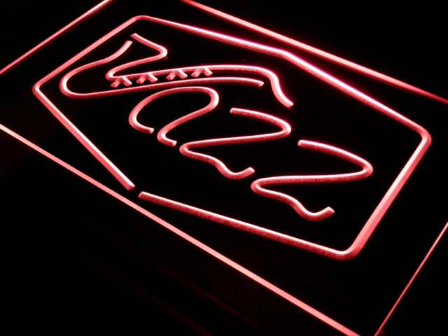 i468 Jazz Bar Music Live Pub Club LED Neon Light Sign On/Off Switch 20+ Colors 5 Sizes