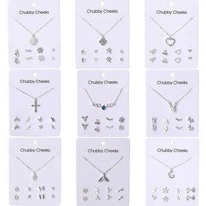 VKME Korean version necklace earrings se