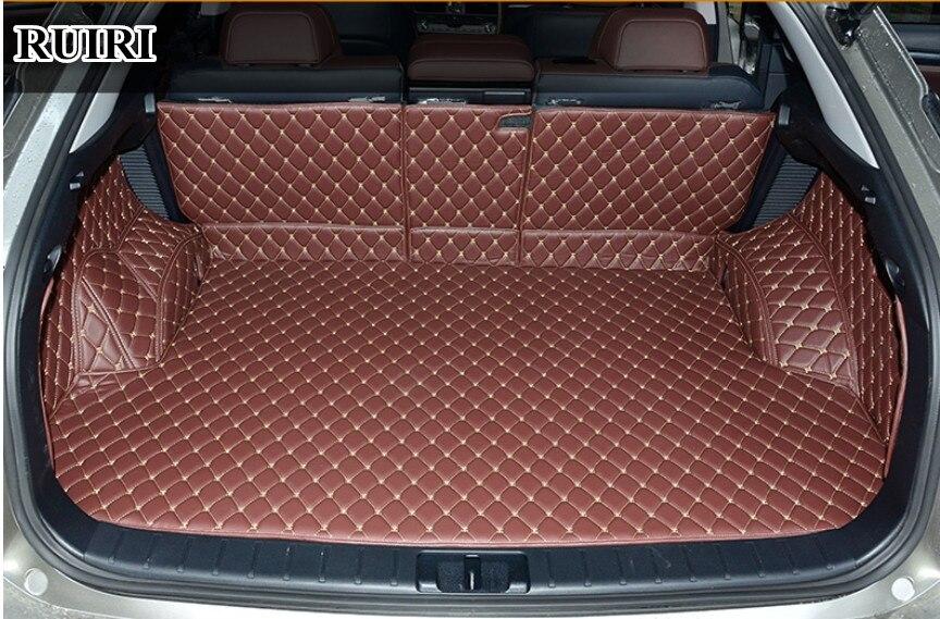 Haute qualité! Spécial tapis voiture du tronc pour Lexus RX 200 t 300 350 450 h 2018-2016 durable démarrage tapis cargo doublure pour RX300 2018