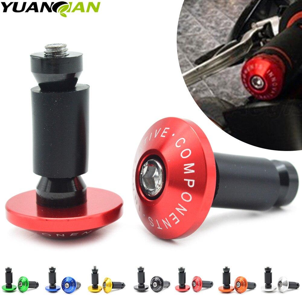 7/8''22 motorcycle handlebar cap motocross handle bar grips ends for YAMAHA XJR 1300 T-Max 530 500 YZF R1 XJ6 MT 07 09 KTM 990