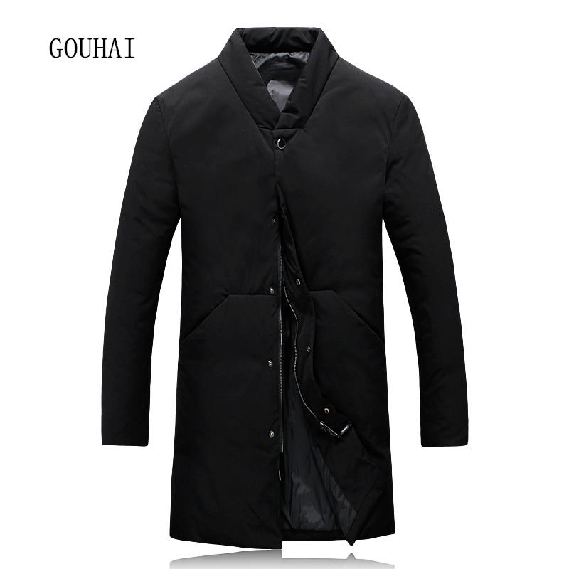 Winter Jacket Mens White Duck Down Jacket Men Coat 4XL 5XL Long Down Jacket Mens Feather Jacket Male Parka Homme Top Quality