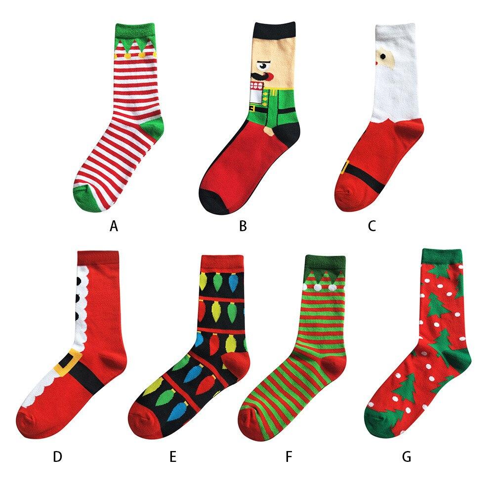 Hot Sale Women Men Christmas Cotton Sock Cartoon Printed Animal Paradise Thick Cute Comfortable Stripe Ankle Soxs Wholesale VC7
