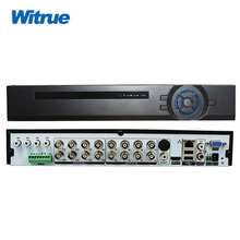 Witrue 16CH P2P HVR AHD DVR 16 * 1080P @ 12FPS Xmeye 6CH audio RS485