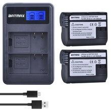 2個EN EL15 en EL15 ENEL15 EL15A電池 + 液晶デュアルusb充電器ニコン用D600 D610 D600E D800 D800E d810 D7000 D7100 d750 V1