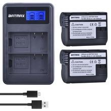 2Pcs EN-EL15 En EL15 ENEL15 EL15A Batterijen + Lcd Dual Usb Oplader Voor Nikon D600 D610 D600E D800 D800E d810 D7000 D7100 D750 V1