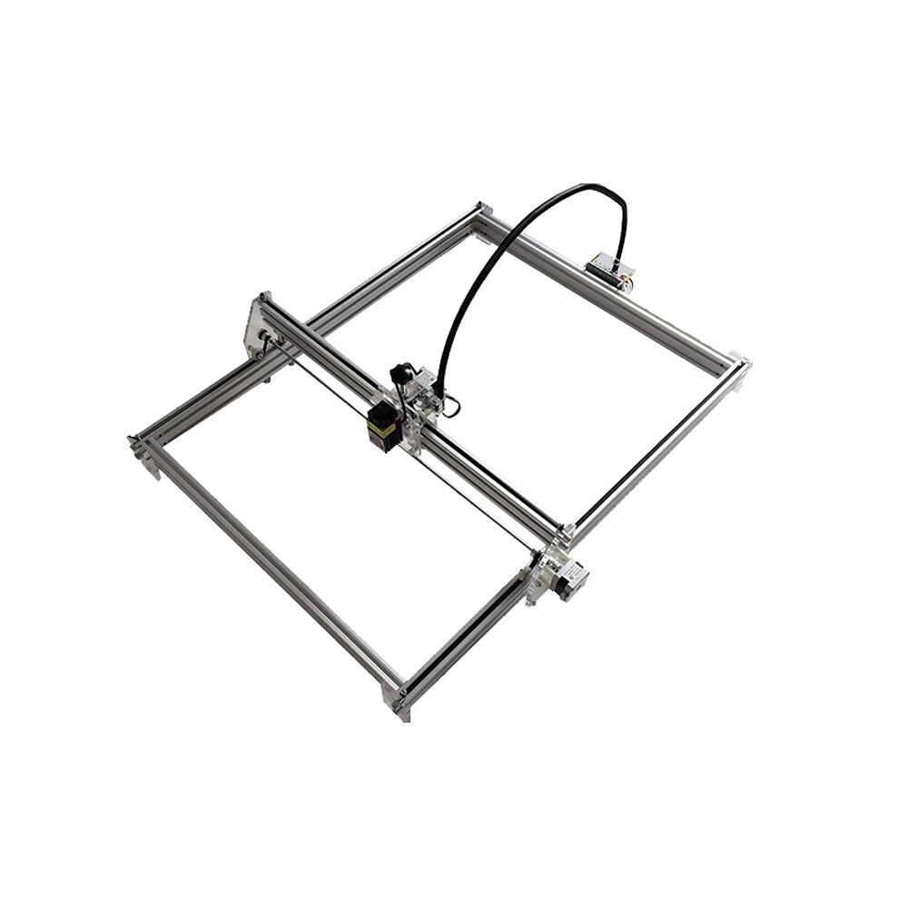 Bricolage laser gravure machine bricolage bureau micro laser gravure machine marquage traceur 1 m * 1 m surface de travail accessoires