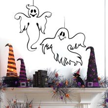 1pcs Ghost Hanging Non-woven Door Hanger Halloween Decor Funny Spooky Wall Decoration Holid