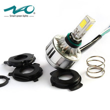 NAO Motorcycle H4 LED Headlight Bulb hs1 flasher motos font b lamp b font for Motorcycle