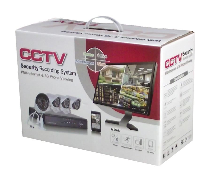720P 1.0 מגה פיקסל מצלמת IP ערכת מעקב טלוויזיה במעגל סגור מצלמת אבטחה מערכת 4CH ערכות NVR