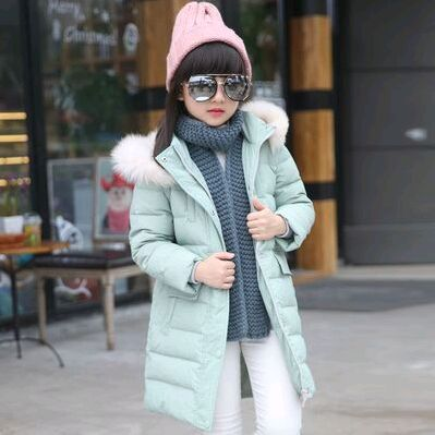 ФОТО 2016 Girl down Jackets Coats For winter warm baby girl Down Outerwear & Coats Kids jacket Children Outerwears for cold winter
