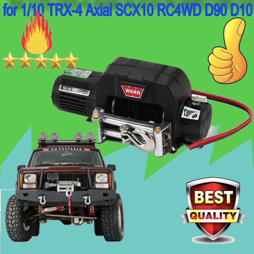 RC Car Mini Metal Electric Winch for Truck 1//10 TRX-4 Axial SCX10 RC4WD D90 D10