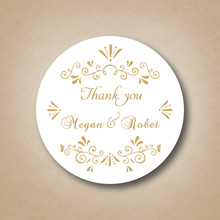 Customized Gold Wedding Favor Labels ,Golden Stickers Custom Wedding Favors Gold Birthday Decorations Tag Personalized Wedding