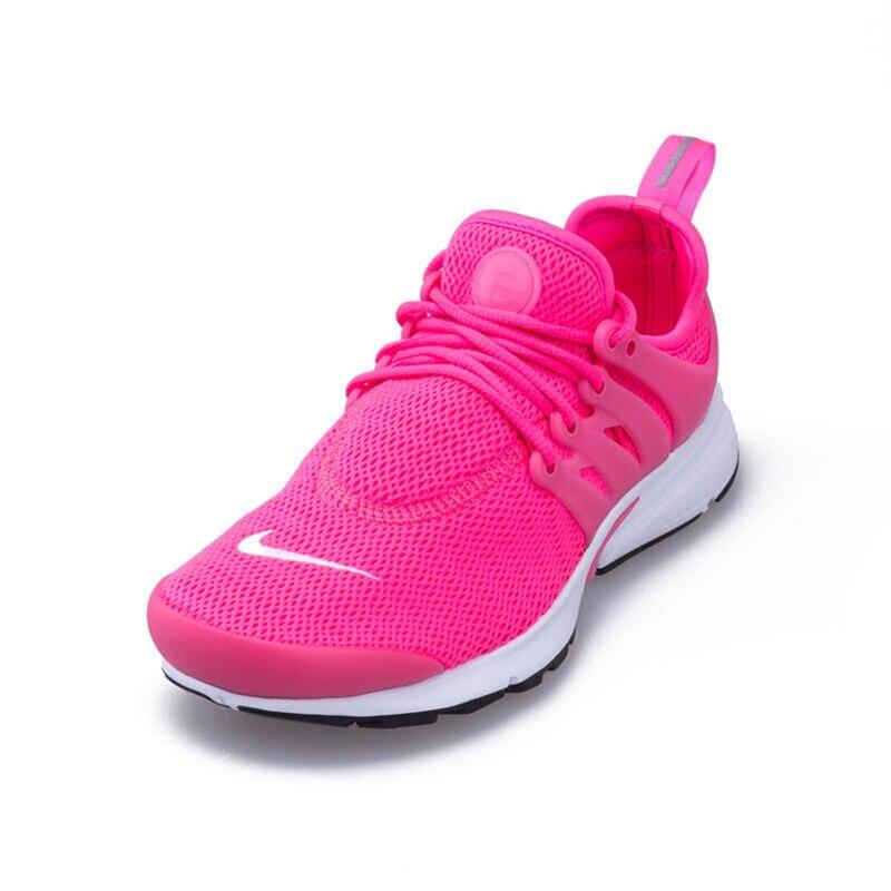 hot sale online b7627 e4364 Original nuevo Color rosa mujeres Nike superficie de malla de las mujeres  Air Presto transpirable marca zapatillas deportivas mujeres zapatillas  deportivas ...