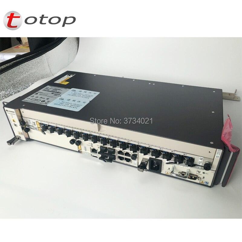 HUAWEI OLT MA5608T 10G GPON Con 1*2 * MCUD1 * MPWD MPWC AC E DC Scheda di Potenza, 1 * GPBD GPFD 8/16 Porte GPON Con C + Modulo SFP