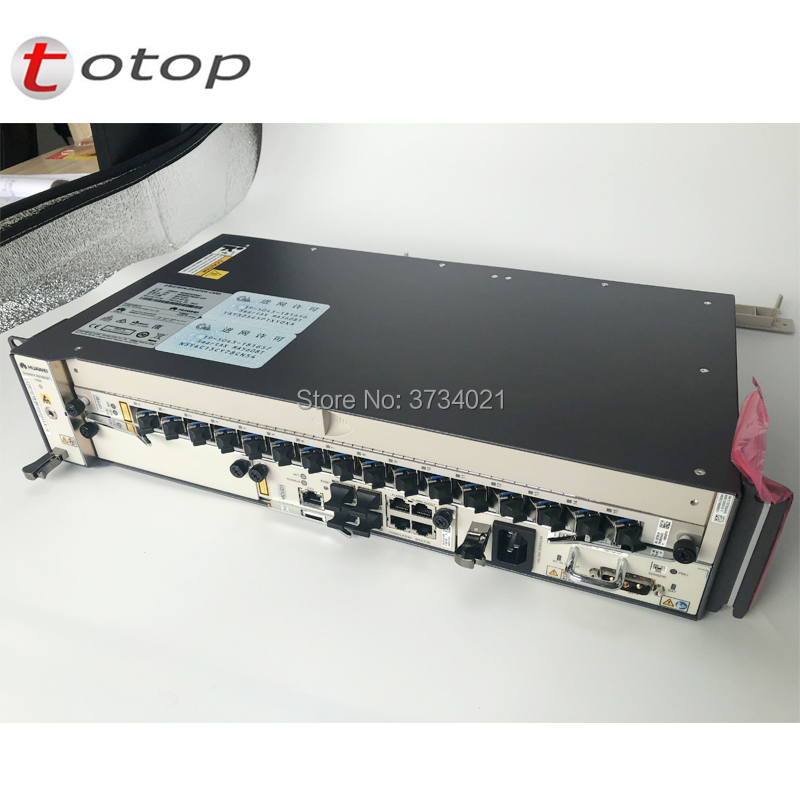 HUAWEI OLT MA5608T 10G GPON With 1*2*MCUD1*MPWD MPWC AC And DC Power Board, 1*GPBD GPFD 8/16 Ports GPON With C+ SFP Module