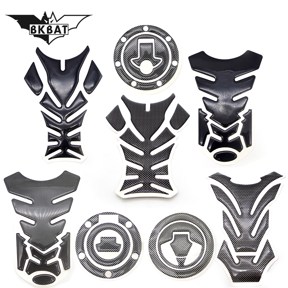 Cool 3D Moto Decal Motorcycle Gas Fuel Tank Pad Protector Sticker For Xmax Yamaha Mt10 Hydrographic Water Transfer Printing Film
