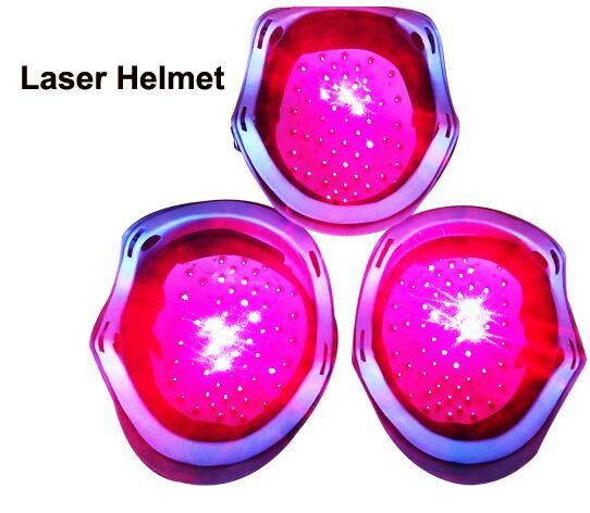 Máquina de tratamento de perda de cabelo capacete diodo laser rebrota dispositivo