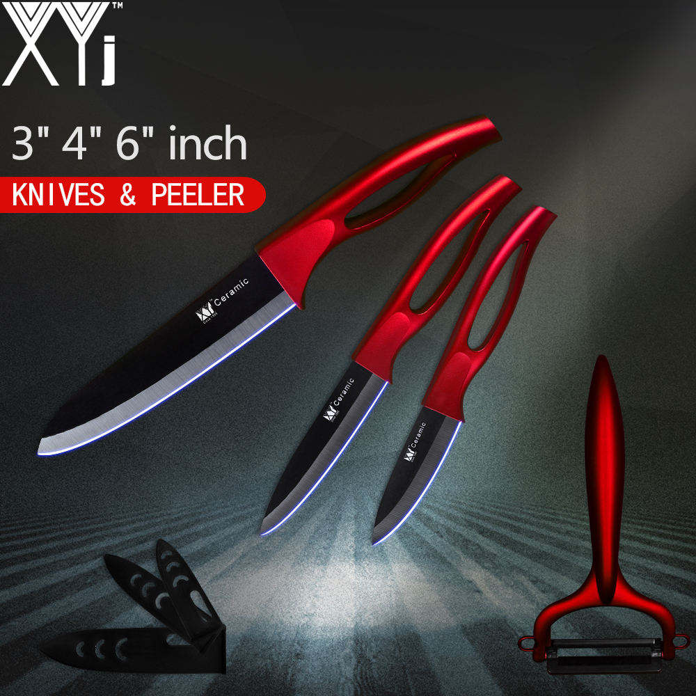 "Ceramic Knife Kitchen Accessories XYj 3"" 4"" 6"" Kitchen ..."